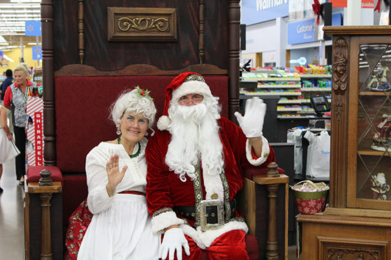 Santa and Mrs. Claus at Joy of Giving Event | The Joy of Giving supports families in need in Collier County