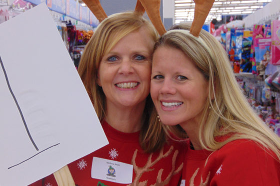 Two Joy of Giving Volunteers | The Joy of Giving supports families in need in Collier County