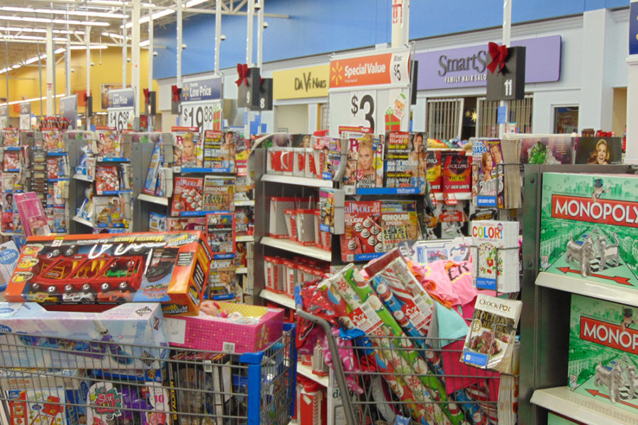 Joy of Giving Carts Over Filled With Toys | The Joy of Giving supports families in need in Collier County